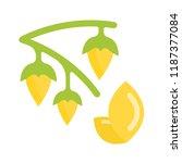 vector illustration of millet....   Shutterstock .eps vector #1187377084
