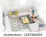 modern interior of smart house | Shutterstock . vector #1187383654