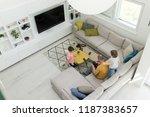 modern interior of smart house | Shutterstock . vector #1187383657
