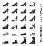 set of different types of women'...   Shutterstock .eps vector #1187392237