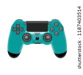 gamepad for game console.the...   Shutterstock .eps vector #1187403514