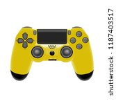 gamepad for game console.the...   Shutterstock .eps vector #1187403517
