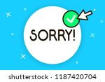 conceptual hand writing showing ... | Shutterstock . vector #1187420704