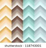 seamless stripe zigzag pattern | Shutterstock .eps vector #118743001