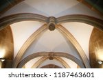 abstract gothic architecture... | Shutterstock . vector #1187463601