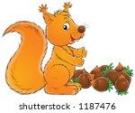 fiber and nuts   Shutterstock . vector #1187476