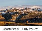 s lheimaj kulsvegur  iceland  ...   Shutterstock . vector #1187493094