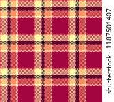seamless tartan vector pattern | Shutterstock .eps vector #1187501407