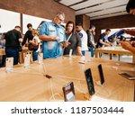 strasbourg  france   sep 21 ... | Shutterstock . vector #1187503444