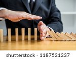 wooden game strategy ... | Shutterstock . vector #1187521237