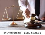 legal law  advice and justice... | Shutterstock . vector #1187522611