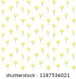 flower pattern background | Shutterstock .eps vector #1187536021