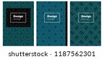 dark blue  green vector pattern ...