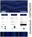 dark blue vector material...