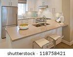 interior design of a luxury... | Shutterstock . vector #118758421