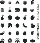 solid black flat icon set piece ... | Shutterstock .eps vector #1187611861