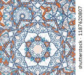 seamless mandala pattern for... | Shutterstock .eps vector #1187620807