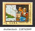 cuba   circa 1982  a postage...   Shutterstock . vector #118762849