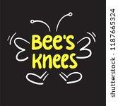 bee's knees   inspire and...   Shutterstock .eps vector #1187665324