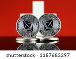 physical version of ethereum ... | Shutterstock . vector #1187683297