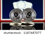 physical version of ethereum ... | Shutterstock . vector #1187687077