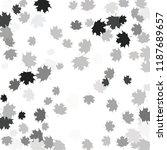 confetti of multicolored leaves ... | Shutterstock .eps vector #1187689657