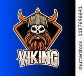 esports gaming logo viking team   Shutterstock .eps vector #1187696641