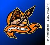 esports gaming logo viking team   Shutterstock .eps vector #1187696644