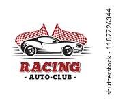 sport car. racing design... | Shutterstock .eps vector #1187726344