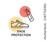 trainer cleaning illustration... | Shutterstock .eps vector #1187726581