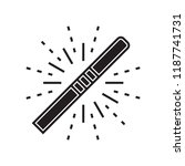 magic wand icon vector isolated ... | Shutterstock .eps vector #1187741731