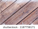 old wood texture for background  | Shutterstock . vector #1187758171