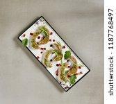 delicatessen dish of lamb... | Shutterstock . vector #1187768497