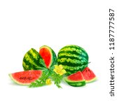 fresh  nutritious and tasty... | Shutterstock .eps vector #1187777587