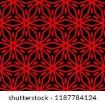 decorative seamless geometric... | Shutterstock .eps vector #1187784124