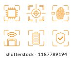 collection device specification ... | Shutterstock .eps vector #1187789194