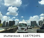 traffic in the city in rush... | Shutterstock . vector #1187792491