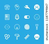 human icons set with... | Shutterstock .eps vector #1187799847