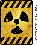 Yellow Radioactivity Warning...