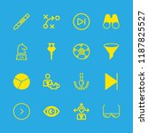 vision icons set with... | Shutterstock .eps vector #1187825527