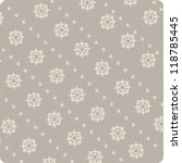 christmas pattern snowflake | Shutterstock .eps vector #118785445