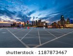 city skyscrapers and road... | Shutterstock . vector #1187873467