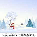 vector cartoon drawing of a... | Shutterstock .eps vector #1187876431