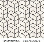 vector seamless geometric... | Shutterstock .eps vector #1187880571