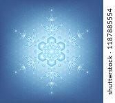 spiritual sacred geometry ... | Shutterstock .eps vector #1187885554