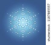 spiritual sacred geometry ... | Shutterstock .eps vector #1187885557