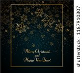 christmas new year background... | Shutterstock .eps vector #1187910307