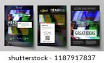 business template for brochure  ... | Shutterstock .eps vector #1187917837