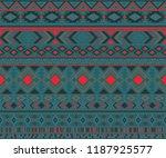 peruvian american indian... | Shutterstock .eps vector #1187925577
