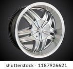 alloy wheel or rim of car   Shutterstock . vector #1187926621
